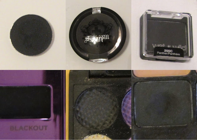 The Best Matte Black Eyeshadow - Comparison, Swatches