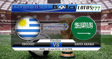 Prediksi Uruguay Vs Saudi Arabia 20 Juni 2018