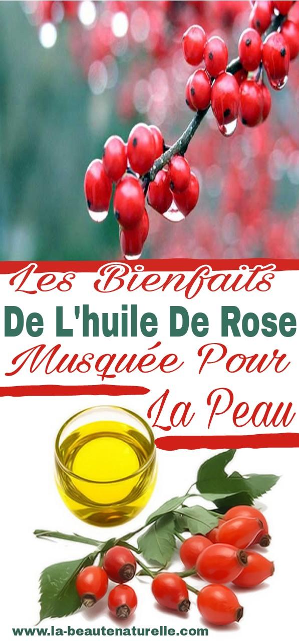 Les bienfaits de l'huile de rose musquée pour la peau