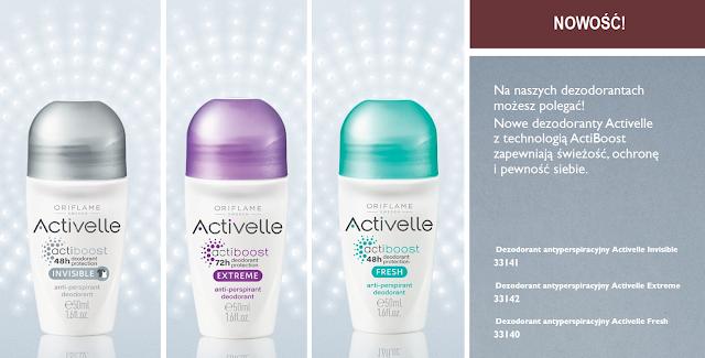 Dezodorant Activelle Oriflame