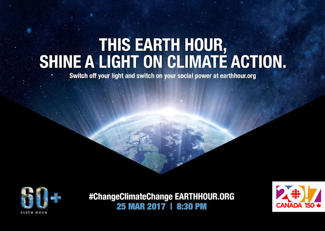 It's so very easy to take part. Join us at 8:30pm on 25 March to celebrate our amazing planet. It only takes an hour. Saturday March 25th, 2017 Learn more about Earth Hour 60+