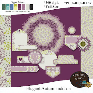 Elegant Autumn Add-on freebie