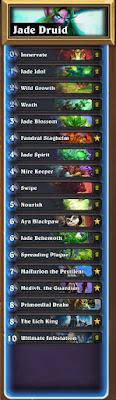 Jade Druid (Frozen Throne Standard): Hearthstone Decklist Guide 1