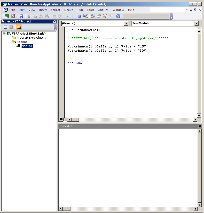 Import_Module_03_View_Code_Window_Free-Excel-VBA.Blogspot.com