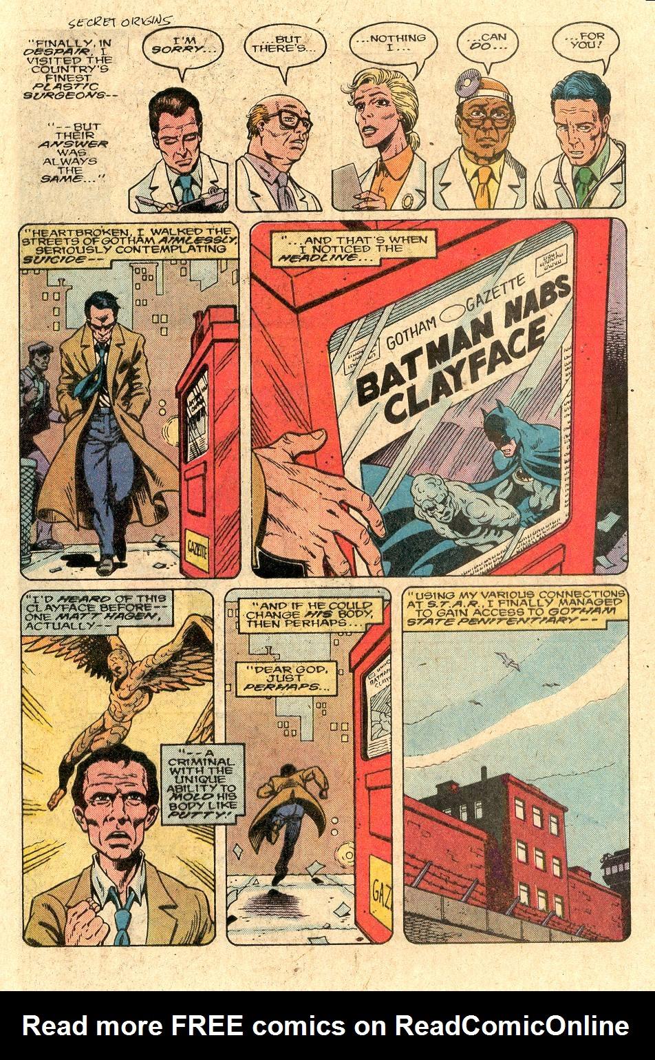 Read online Secret Origins (1986) comic -  Issue #44 - 34