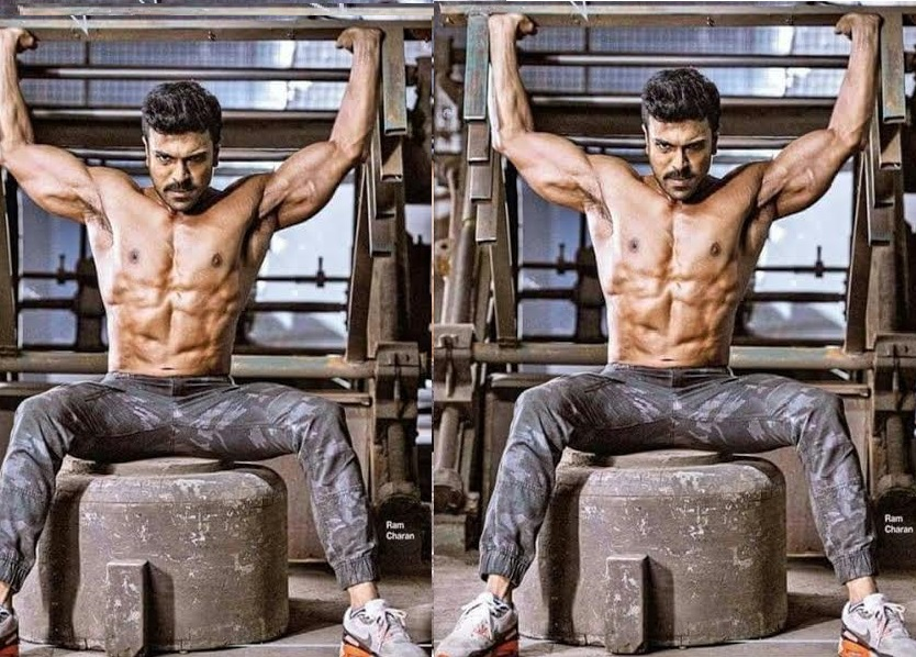 Ram charan teja six pack body