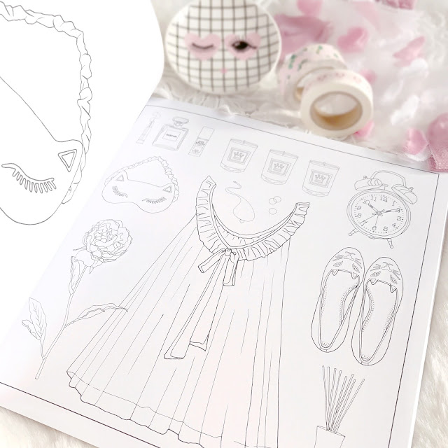 #OOTD Fashion Flat Lay Colouring Book