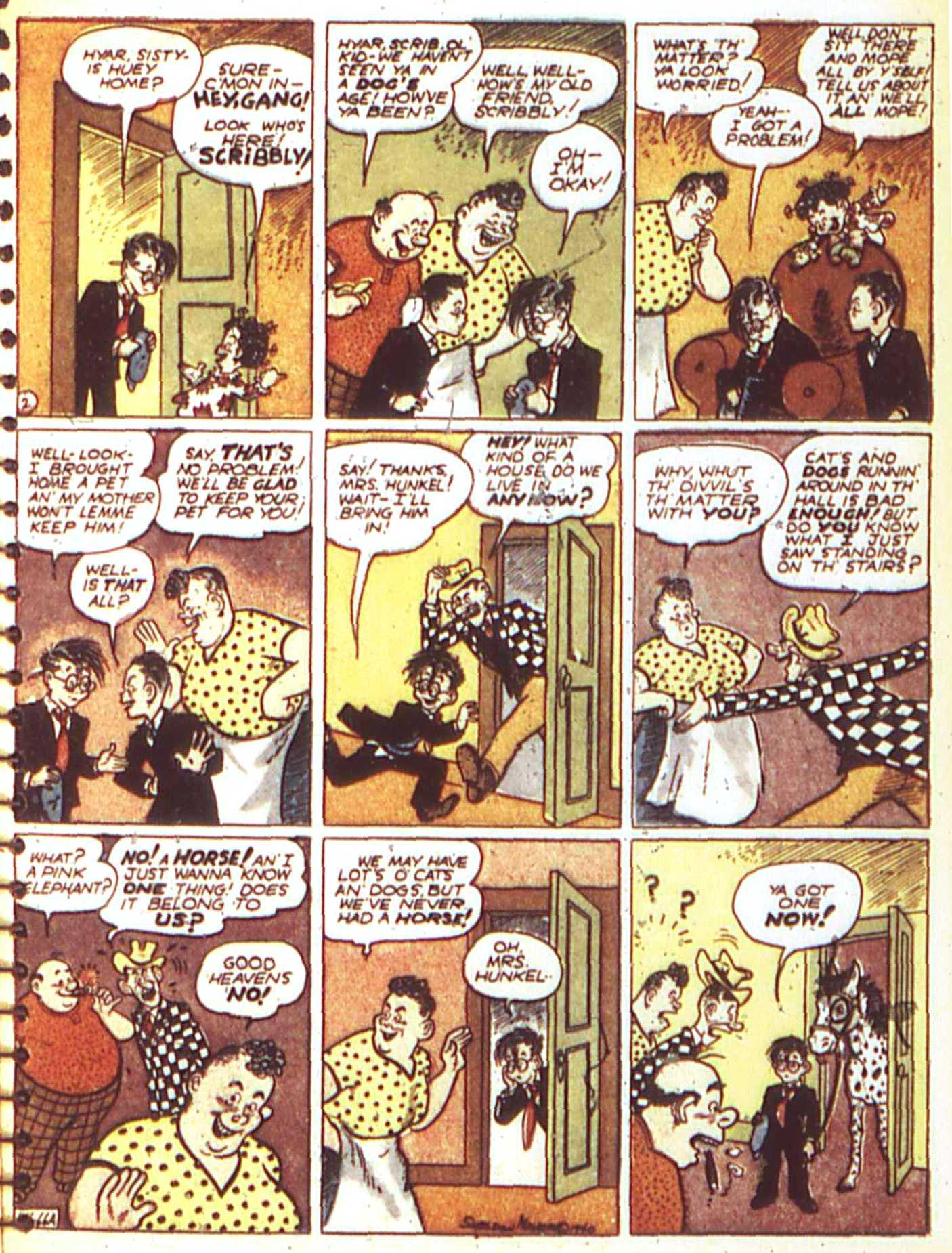 Read online All-American Comics (1939) comic -  Issue #17 - 55