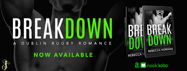 Blog Tour incl Exclusive Excerpt & Giveaway: Rebecca Norrine - Breakdown