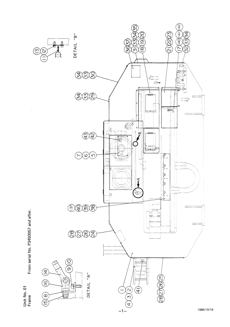 Amada Pega 304050 KING Turret Punch Press Parts List   AMADA