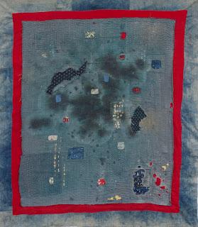 Multiverse- art quilt