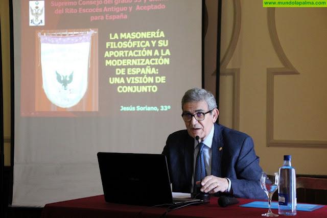 """Jesús Soriano: """"La Masonería ha trabajado por la libertad del individuo y una sociedad democrática"""""""