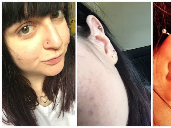 My piercing history! | Lifestyle