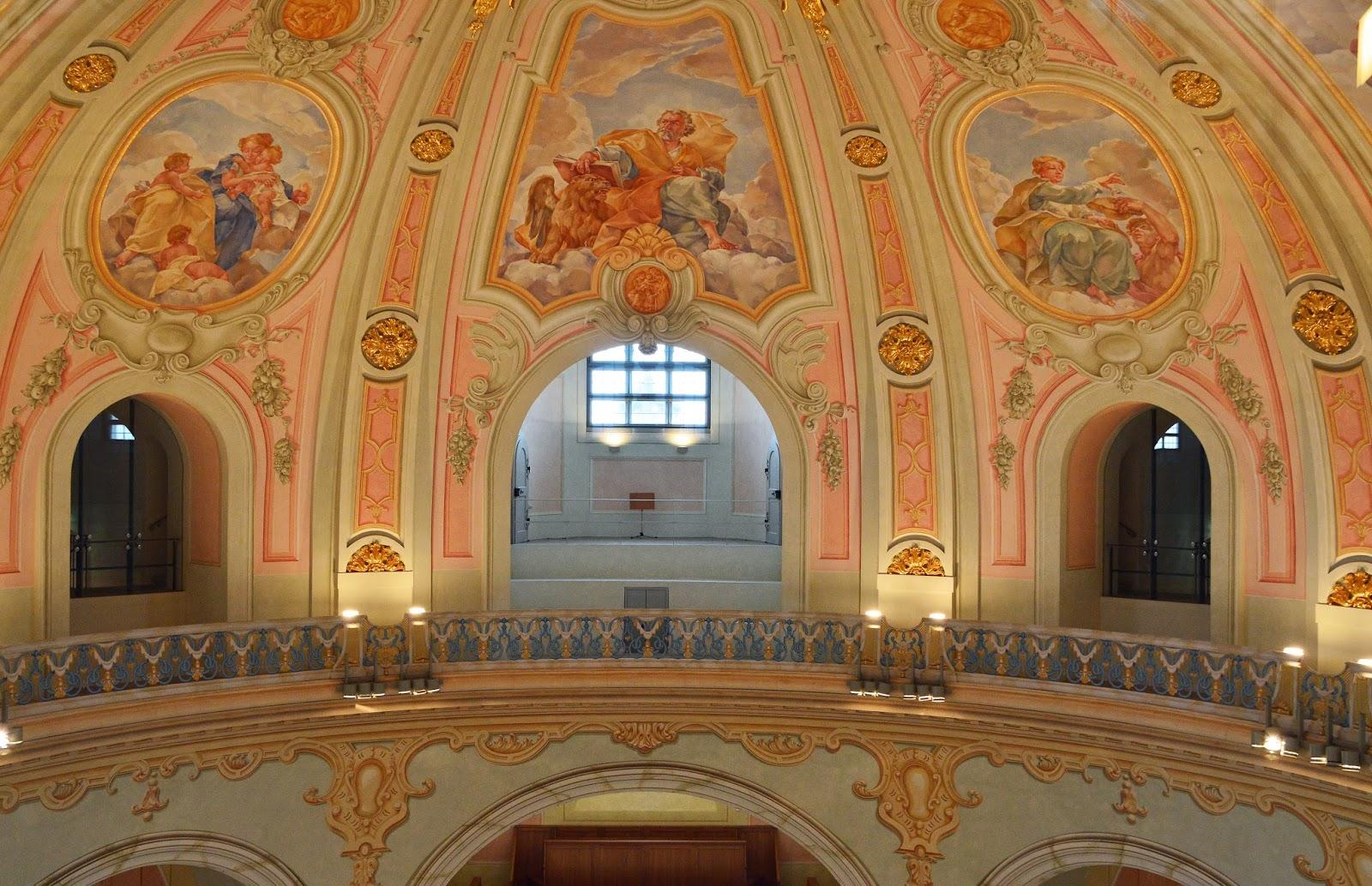 Frauenkirche Malowidła na kopule