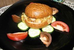 Mėsainis su vištiena