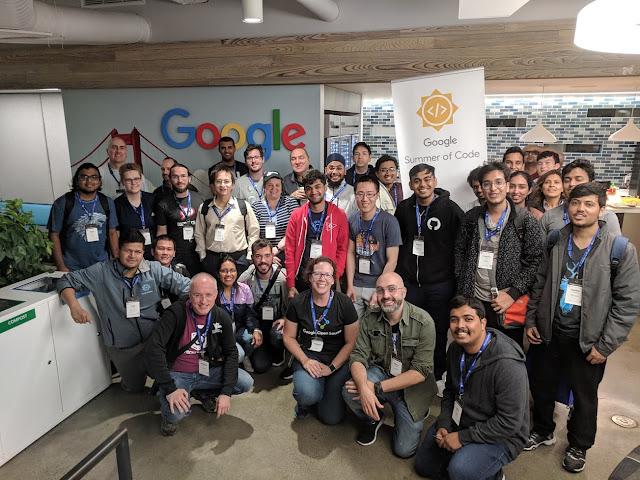 Fotos del Summit mundial de organizadores y mentores de los programas GSOC y GCI