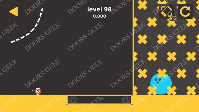 Ball & Ball Level 98 Solution, Walkthrough, Cheats for android and ios