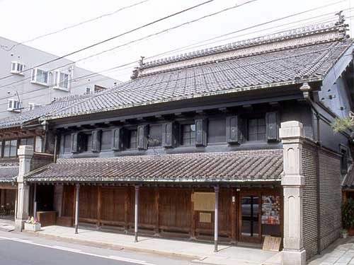 The Sugano Residence, Takaoka, Toyama Prefecture © Takaoka Lifelong Learning Center.