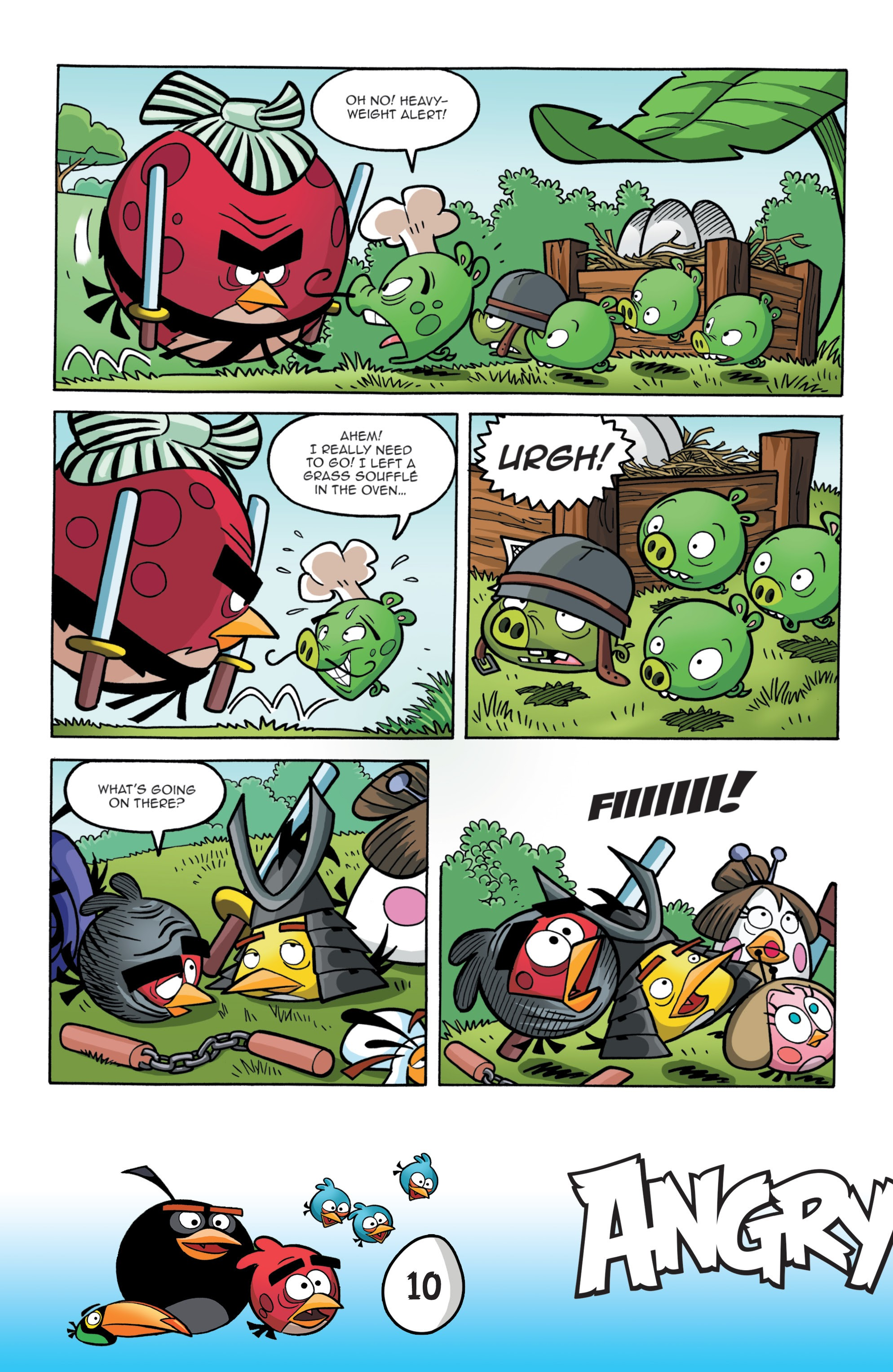 Read online Angry Birds Comics: Game Play comic -  Issue #1 - 12