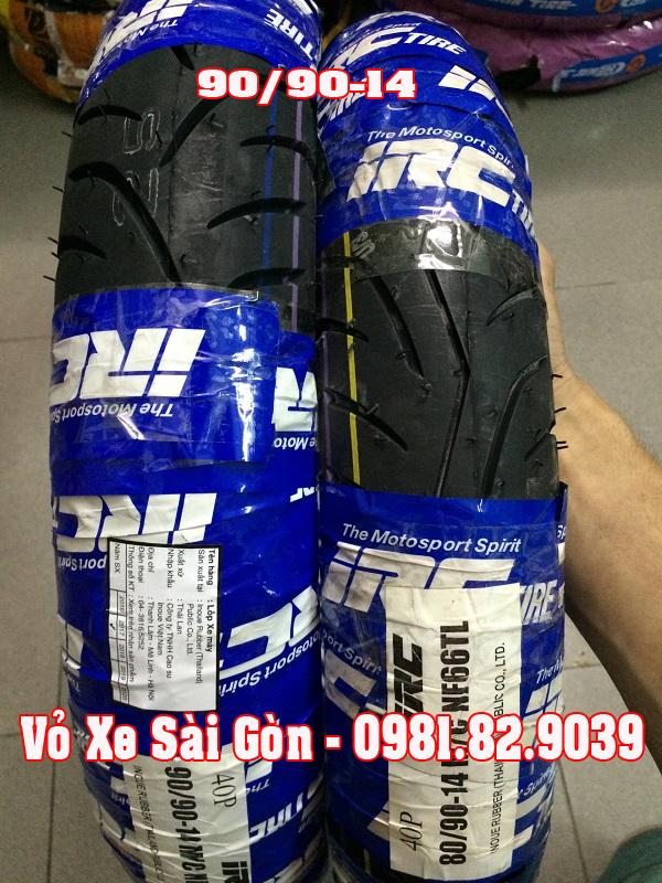 Vỏ xe máy INOUE (IRC) Thái 90/90-14 TL hàng chất lượng