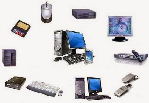 Komponen Perangkat Input Proses Output Penyimpanan Dan