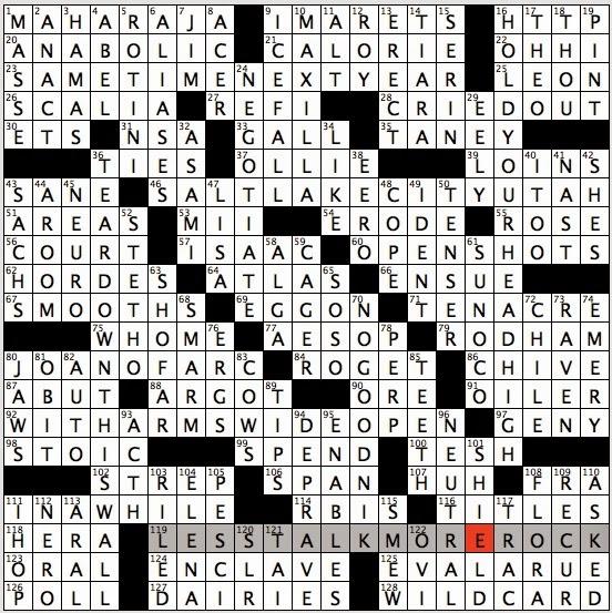 Rex Parker Does the NYT Crossword Puzzle: Ottoman inns / SUN