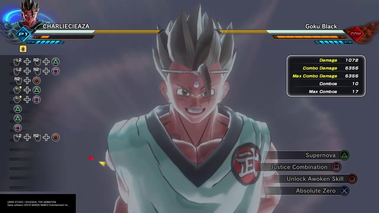 xenoverse 2 potential unleashed - woodworking