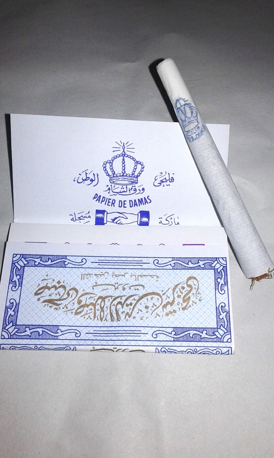 Natural Without Gum Arabic Hand Rolling Papers Regular 15