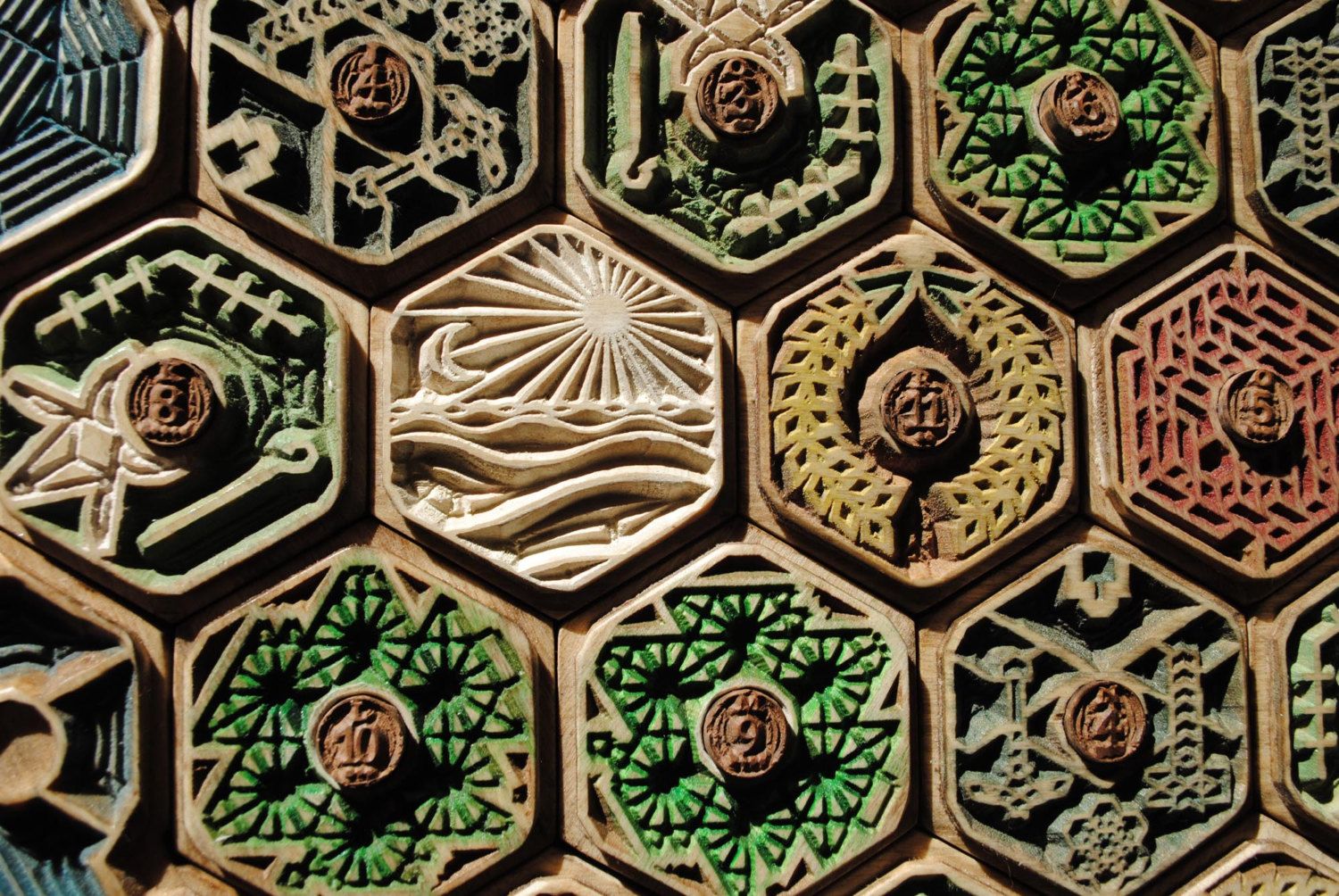 Hiews Boardgame Blog Wooden Board For The Settlers Of Catan