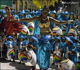 Desfile de Llamadas 2017 Montevideo Uruguay Las Panteras de Benguela