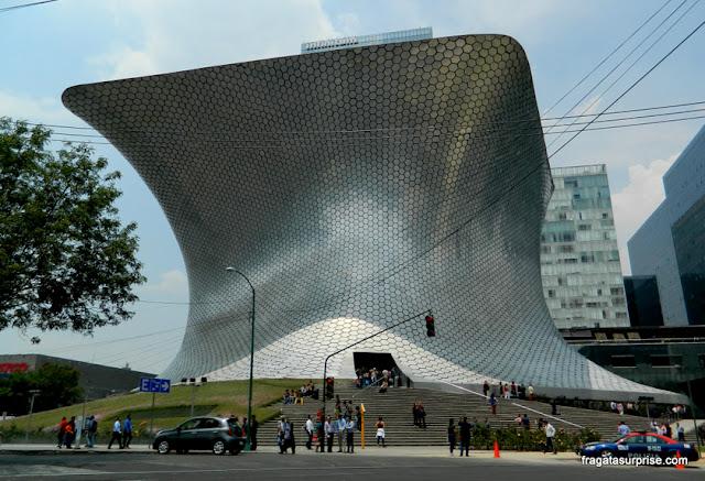 Fachada do Museu Soumaya, Cidade do México