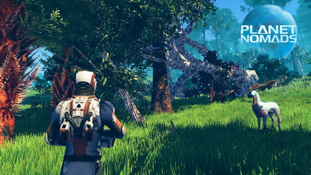 Planet Nomads Game Free Download Poster