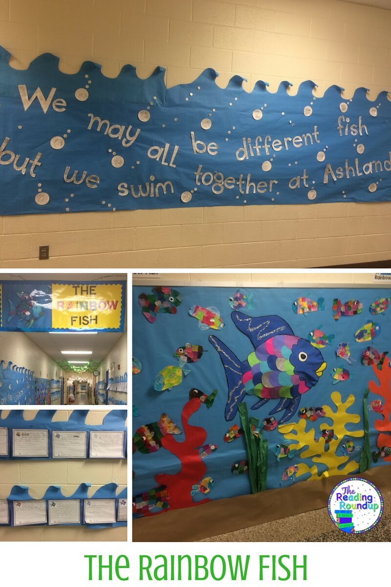 The reading roundup children 39 s books bulletin board ideas for Fish bulletin board