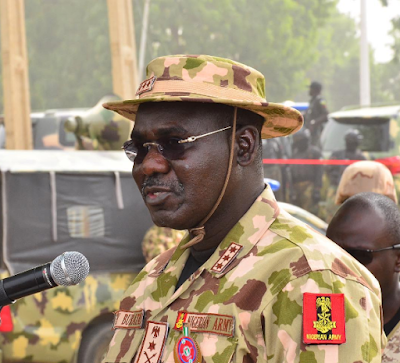 Buratai To Nigerian Soldiers: Get Shekau Dead or Alive