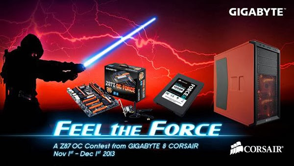 GIGABYTE Feel the Force OC Contest