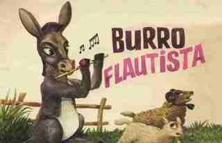 The Flutist Donkey