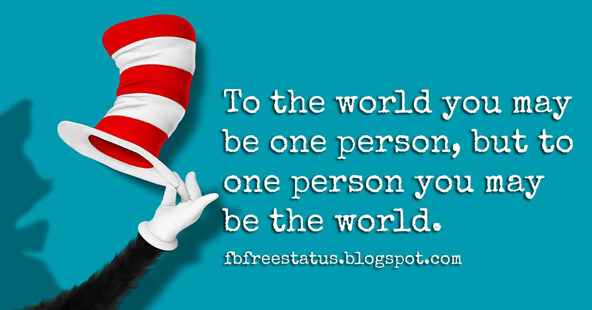 Dr Seuss Inspirational Quotes