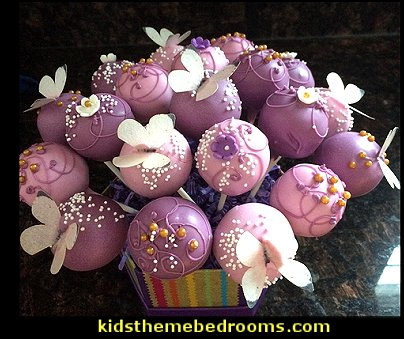 fairy party cake pops