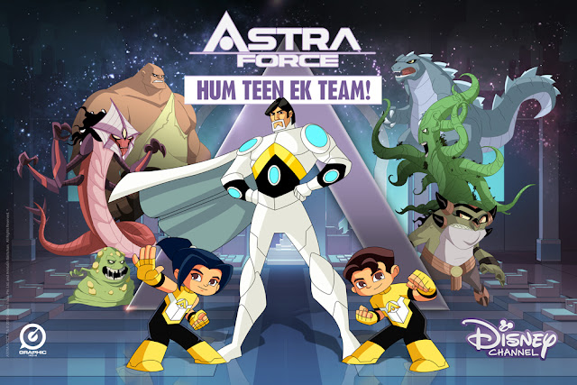 "AMITABH BACHCHAN'S NEW ANIMATED SUPERHERO SERIES, ""ASTRA FORCE"" TO PREMIER ON DISNEY CHANNEL"