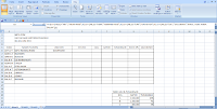 Formula Data dalam sheet Excel