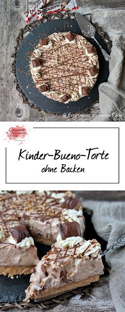Kinder-Bueno-Torte ohne Backen | Kuchen | Rezept | Essen