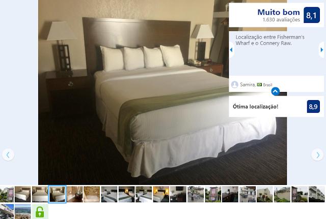 Hotel Cannery Row Inn para ficar em Monterey
