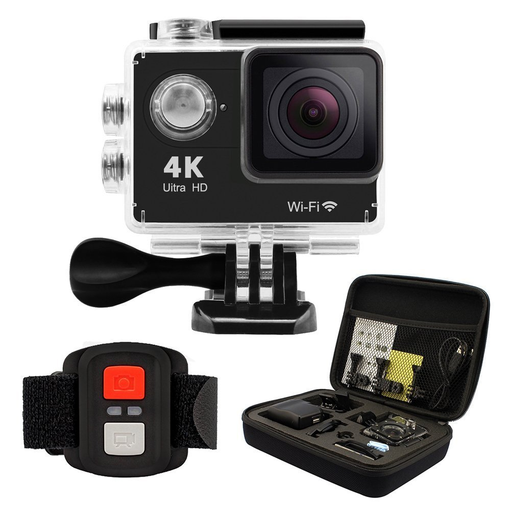 Dslr Cameras Geekpro 40 Plus 4k Hd Action Camera Wrist 24g Sport Cam Full With Remote Wireless Rf Control 2inch Sports Video Waterproof Wifi 12mp Underwater Camcorder Portable