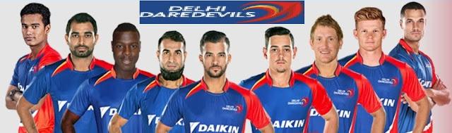 IPL 2018 Delhi Team