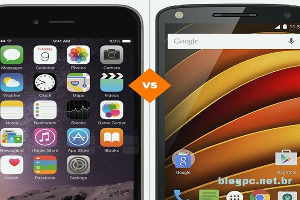 Veja comparativo entre iPhone 6 e Moto X Force