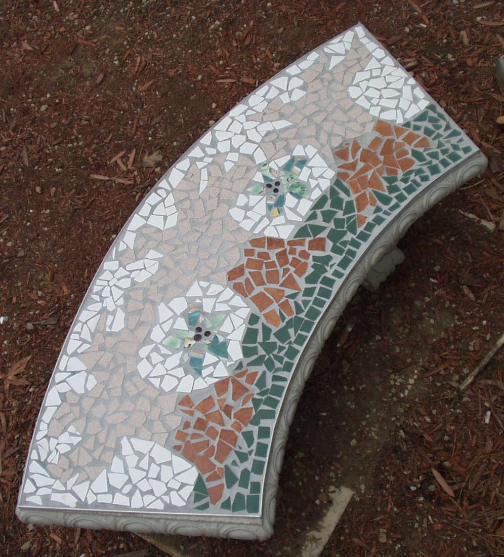 The Spirit Of Gaudi Lives On Contemporary Broken Tile