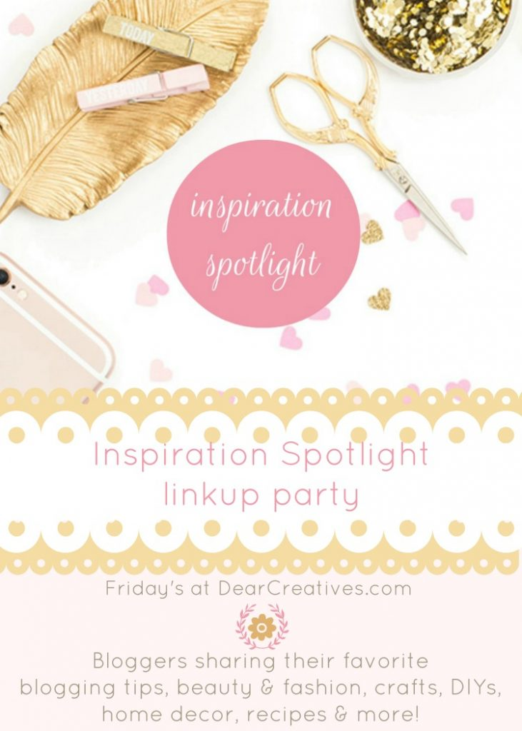 Inspiration Spotlight Linky Party