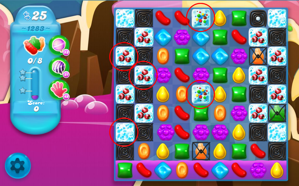 Candy Crush Soda Saga level 1283