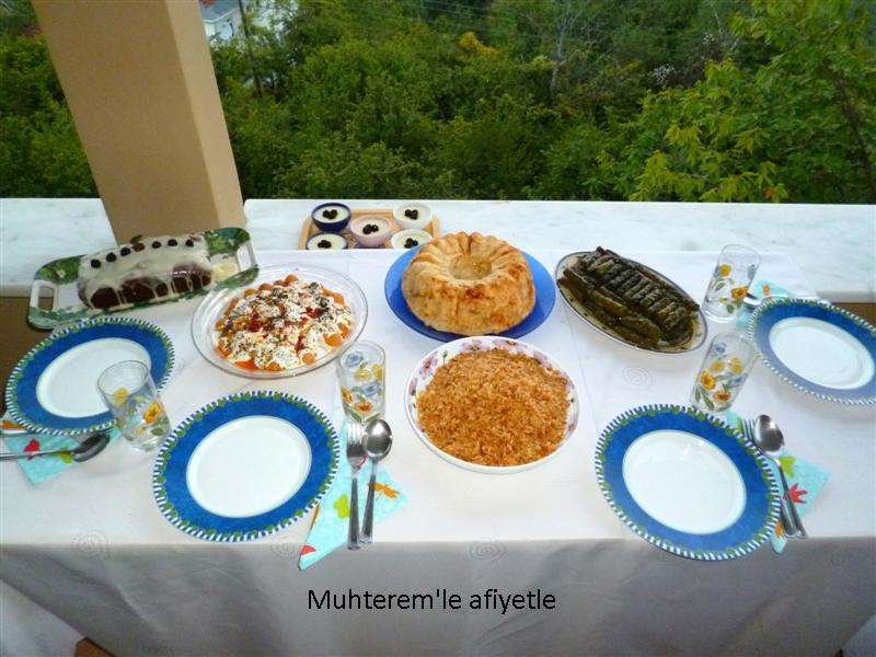 köyde iftar masası