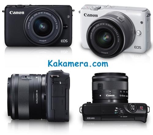Harga Kamera Canon EOS M10
